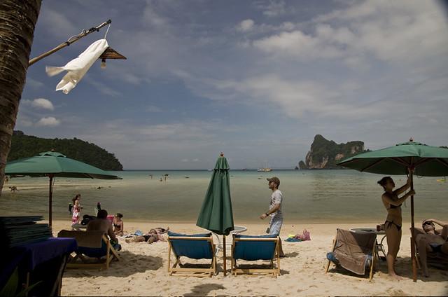 spiaggia phi phi