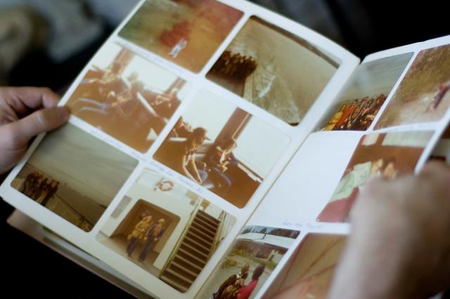 Photo albums.