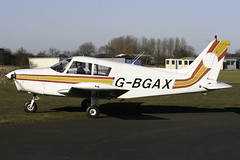 G-BGAX - 1973 build Piper PA-28-140 Cherokee