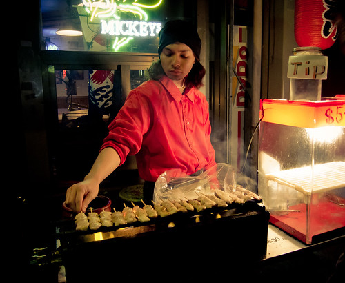 Yakitori Street Vendor