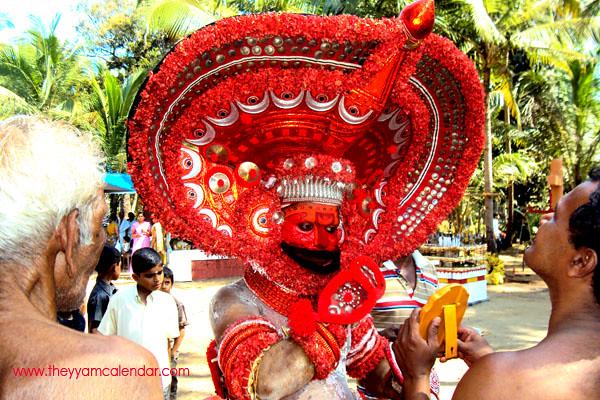 kathivanoor Veeran theyyam