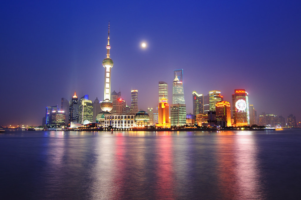 月光上海灘 Moon Night The Bund