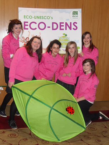 Colaiste Muire Group Photo L - R Orla O'Neill, Saoirse Kearse, Leila Ben-Fredj, Cliona Redington, Alice Mahony, Niamh Hamilton-Jones