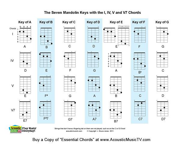 Essential Chords, 7 Major Mandolin Keys : The Seven Mandolinu2026 : Flickr - Photo Sharing!