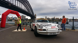 2014 Transworld Sydney to London Historic Rally - Car 3