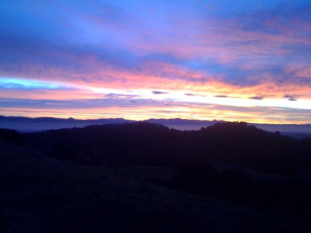 Sunrise Over Gilroy Flickr Photo Sharing