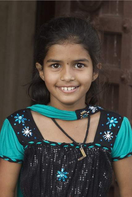 indian young girl:
