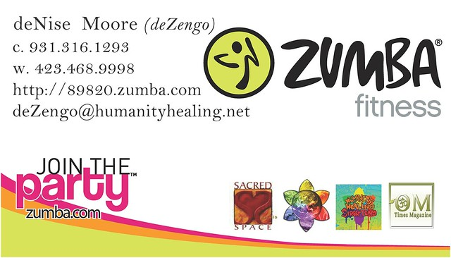 Zumba Instructor Business Cards http://www.flickr.com/photos/dezengo/5402130007/