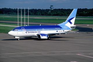 307bh - Estonian Air Boeing 737-5L9; ES-ABI@TLL;10.07.2004