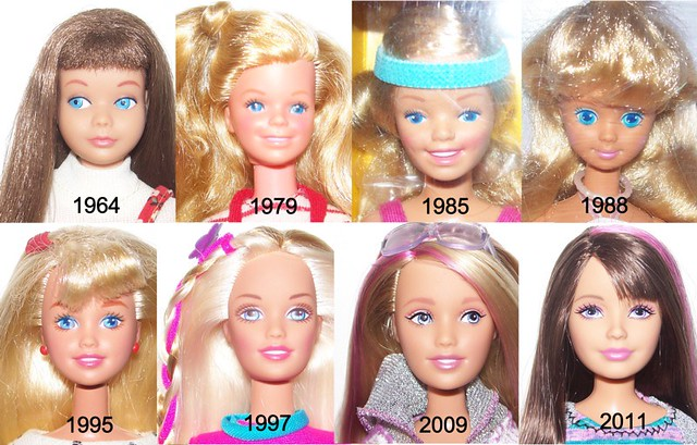 Barbie Faces 5405879515_fe3aa9e20b_z