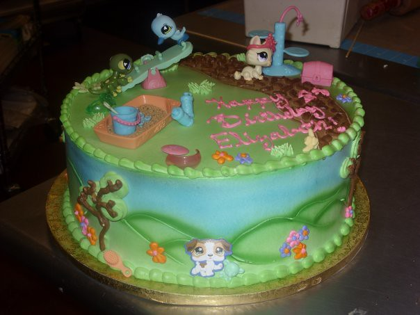 Images Of Littlest Pet Shop Cakes