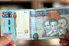 Países y monedas de América Central