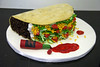 huge taco birthday cake