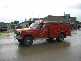 Harwood, ND Mini-Pumper in parade
