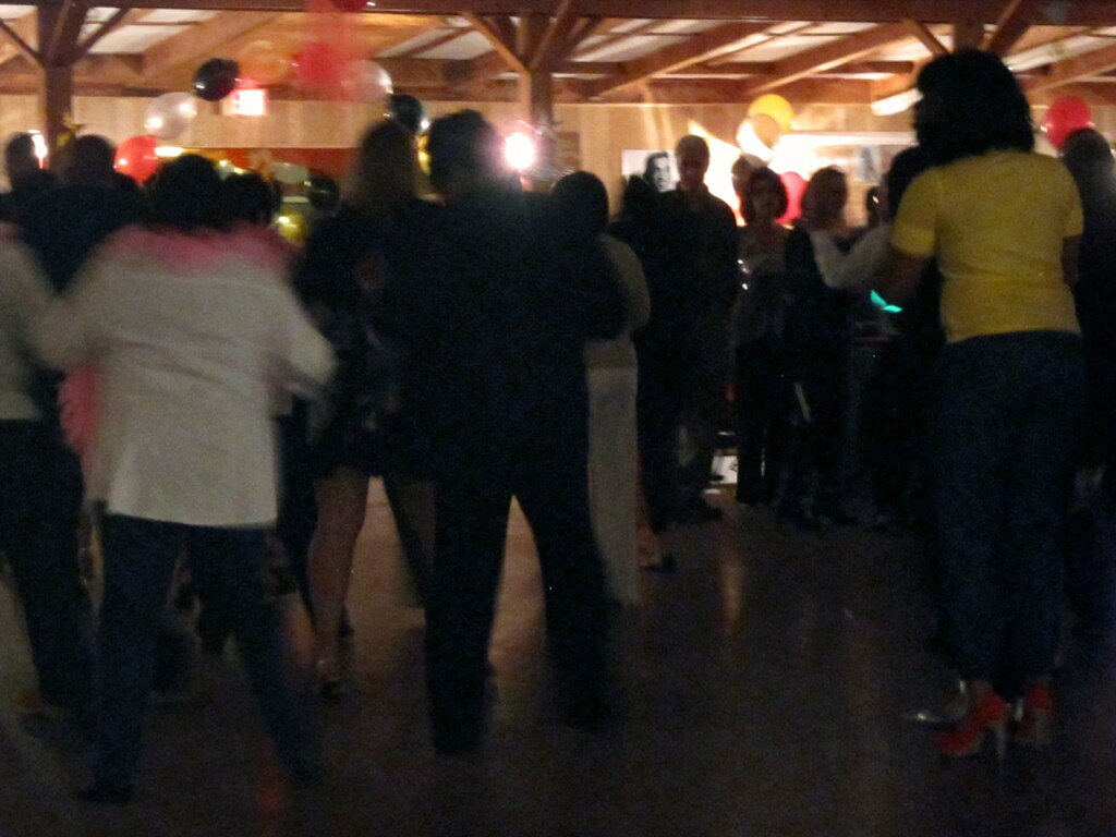 People Dancing at the PHE Company Party