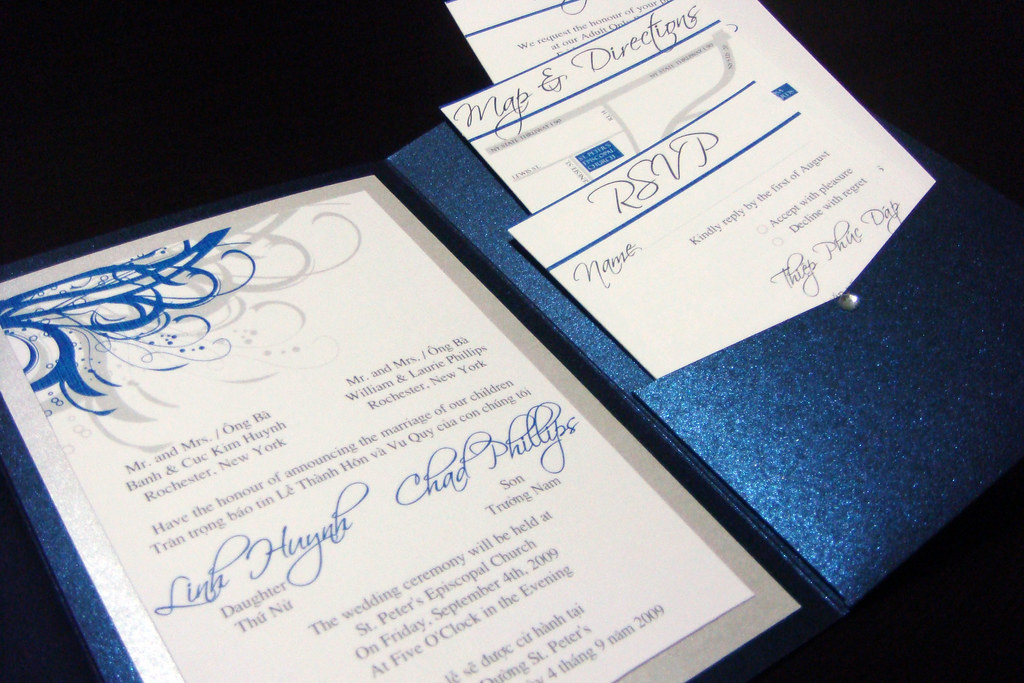 Famous Vietnamese Wedding Invitations Gallery - Invitation Card ...