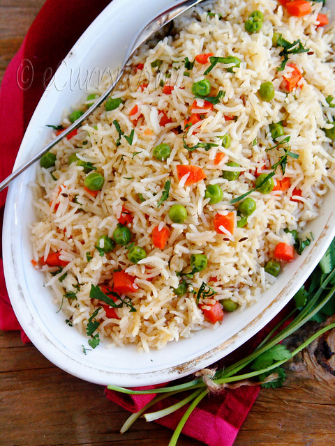 Indian Vegetable Pulao | A light pulao/pilaf with Basmati r ...