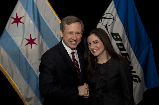 The Boeing Company Award Event for Rep. Mark Kirk (R-IL)
