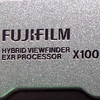Fujifilm FinePix X100 badge