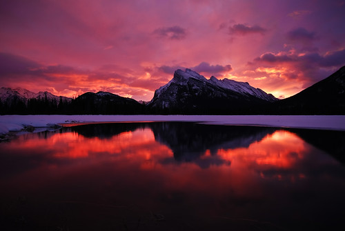 Vermilion Lakes Sunrise