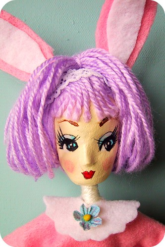 Bonnie Bunny Pose Doll Close up   by bewitchedmagic