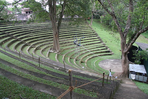 Sarachchandra open air theatre, University of Peradeniya by exfordy