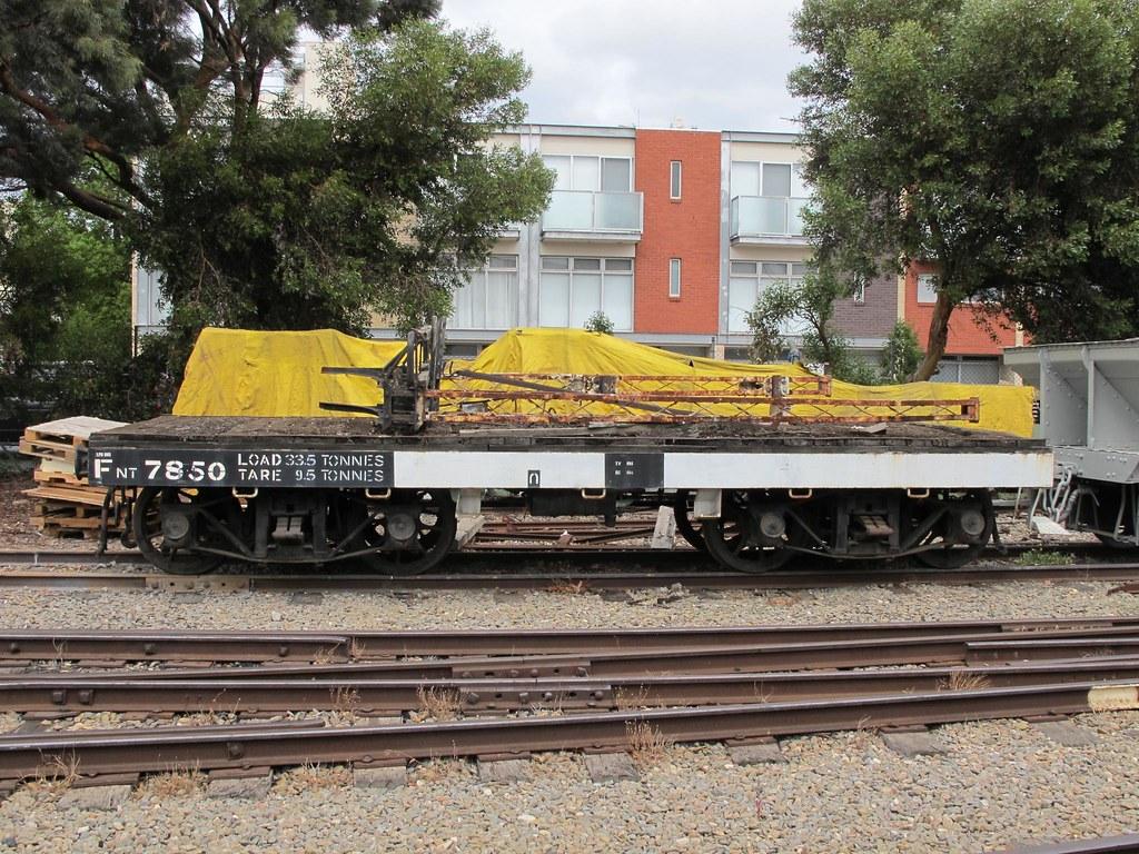 p1092316 - NRM - FNT Class Bogie FlatWagon No. 7850 - South Australian Railways - Narrow Gauge by Chris