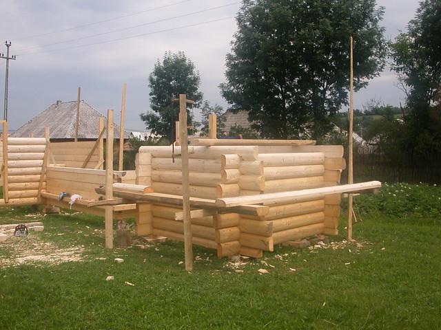 Casas de troncos de madera flickr photo sharing - Casas troncos de madera ...