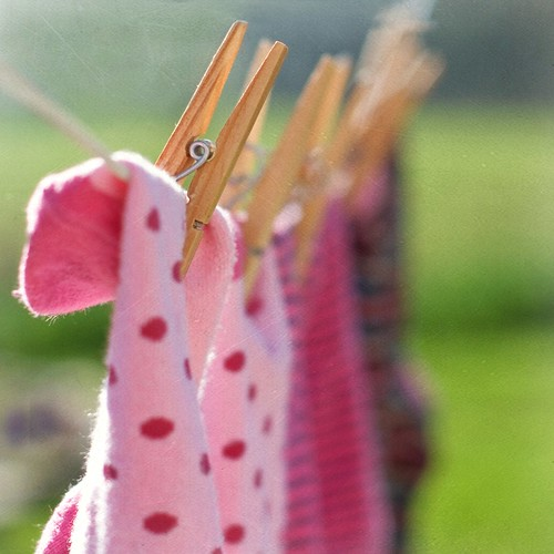 laundry day by Suzi Marshall
