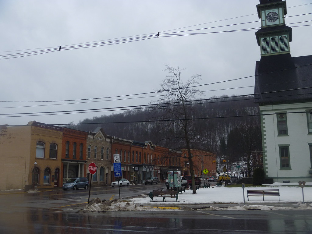 Phenomenal View Of Downtown Coudersport Pa And Potter County Courthou Download Free Architecture Designs Rallybritishbridgeorg