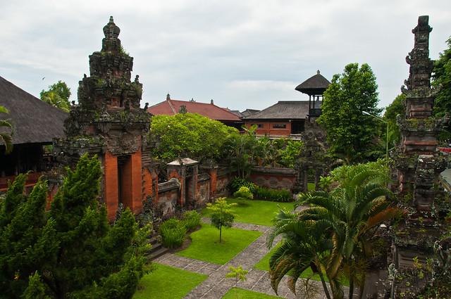 At the Bali Museum, Denpasar