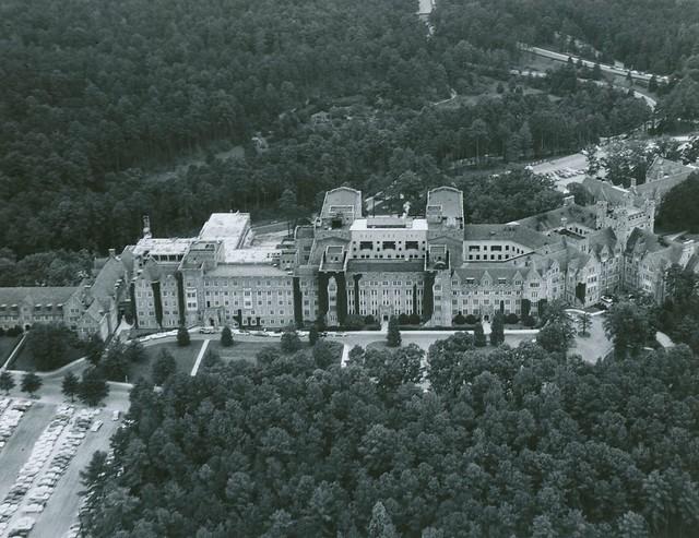 Aerial View of Duke University Medical Center, 1966