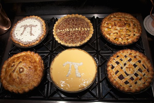 Pie for Pi Day, 2011