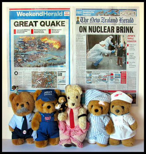 Ted's NZ Herald News Report - Japan hit by a Devastaing Earthquake and Tsunami... and the threat of a Nuclear Meltdown...