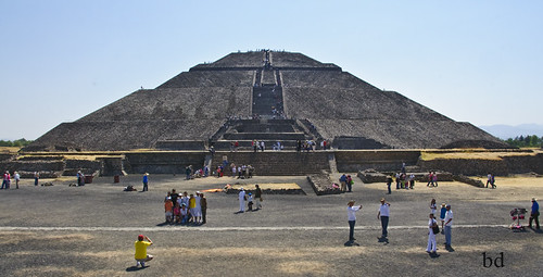 Pyramid of the Sun - Teotihuacan Mexico