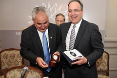 Subsecretario Adjunto de Defensa Frank Mora en Uruguay