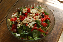 salad, vegetable, vegetarian food, food, dish, cuisine, feta,
