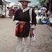 Man in traditional dress - Hombre en traje tradicional; Fiesta del pueblo - Joyabaj, El Quiché, Guatemala