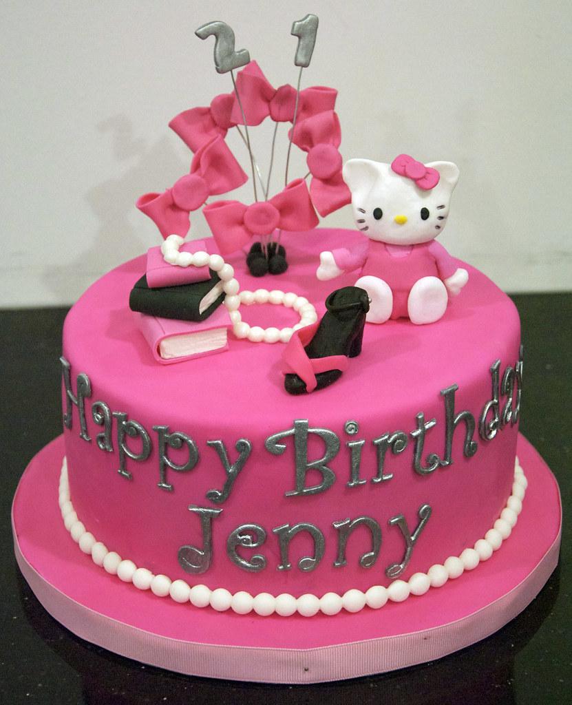 BC4034 hello kitty birthday cake a photo on Flickriver