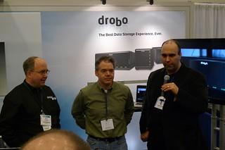 Marc Fuccio (DROBO), Alex Lindsay and Richard Harrington