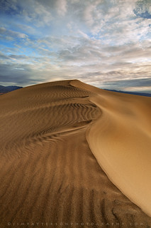 Satin Sands - Mesquite Dunes, Death Valley National Park, California