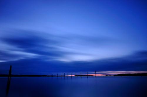 longexposure blue sunset water waterfront pugetsound 365 northeverett