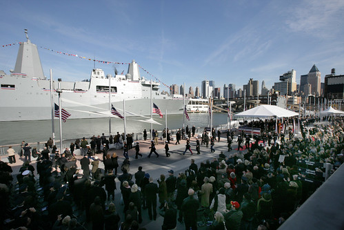 Commissioning of USS New York