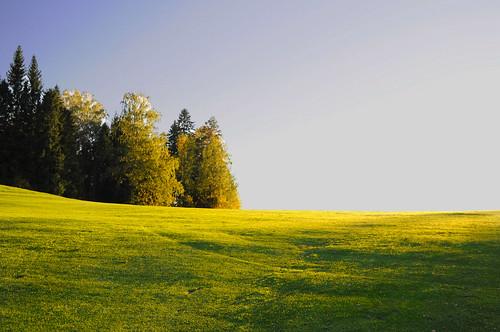 suomi finland river golf nokia