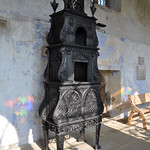 Cast-Iron Stove in the Orangery