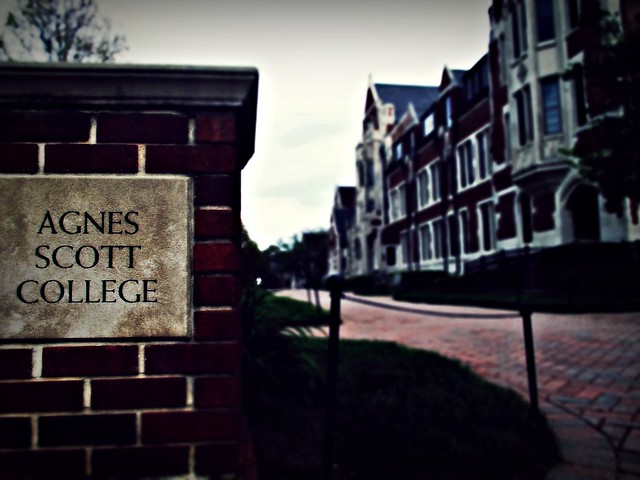 Header of Agnes Scott