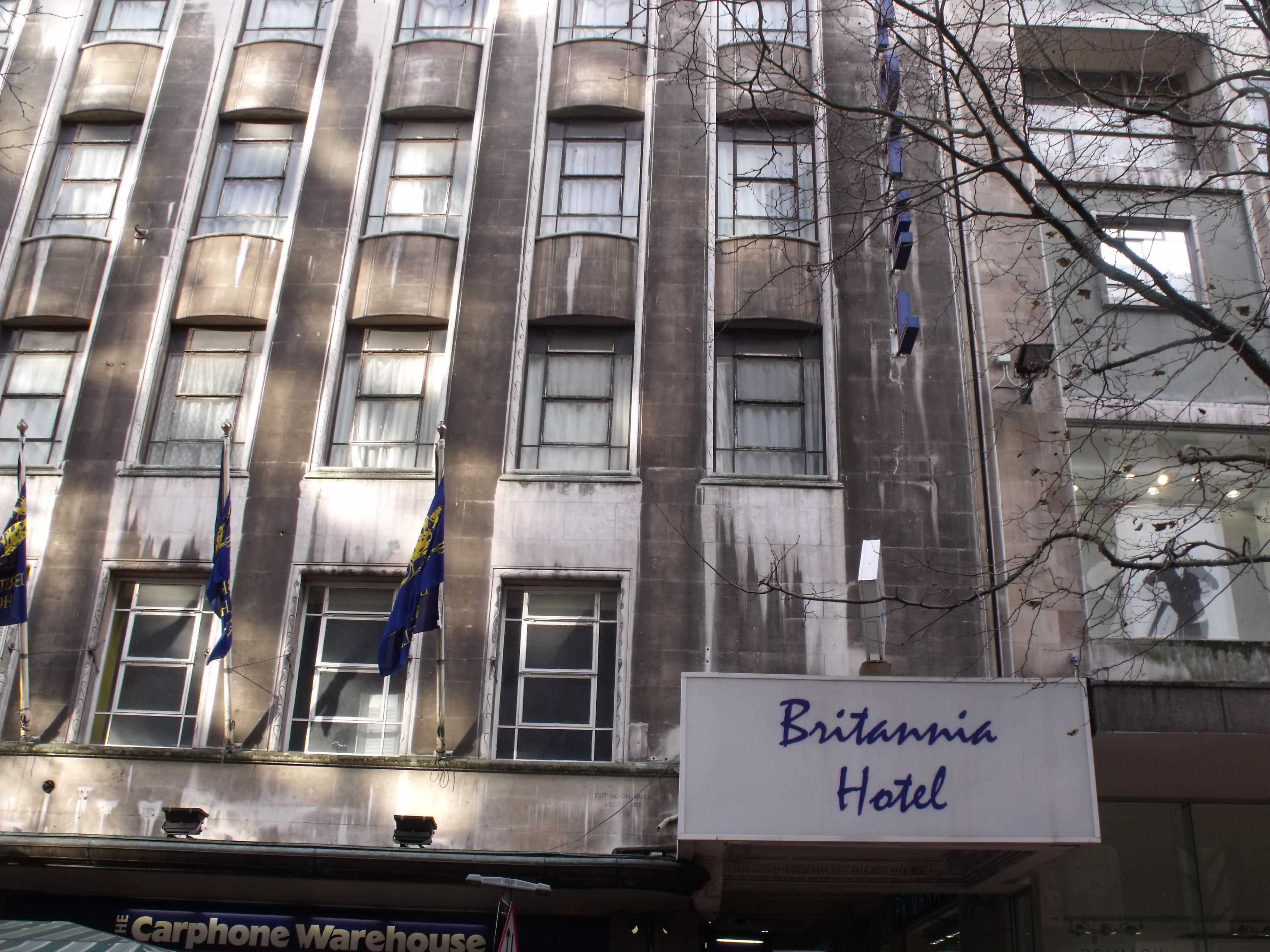 Britannia Hotel Birmingham New Street Station