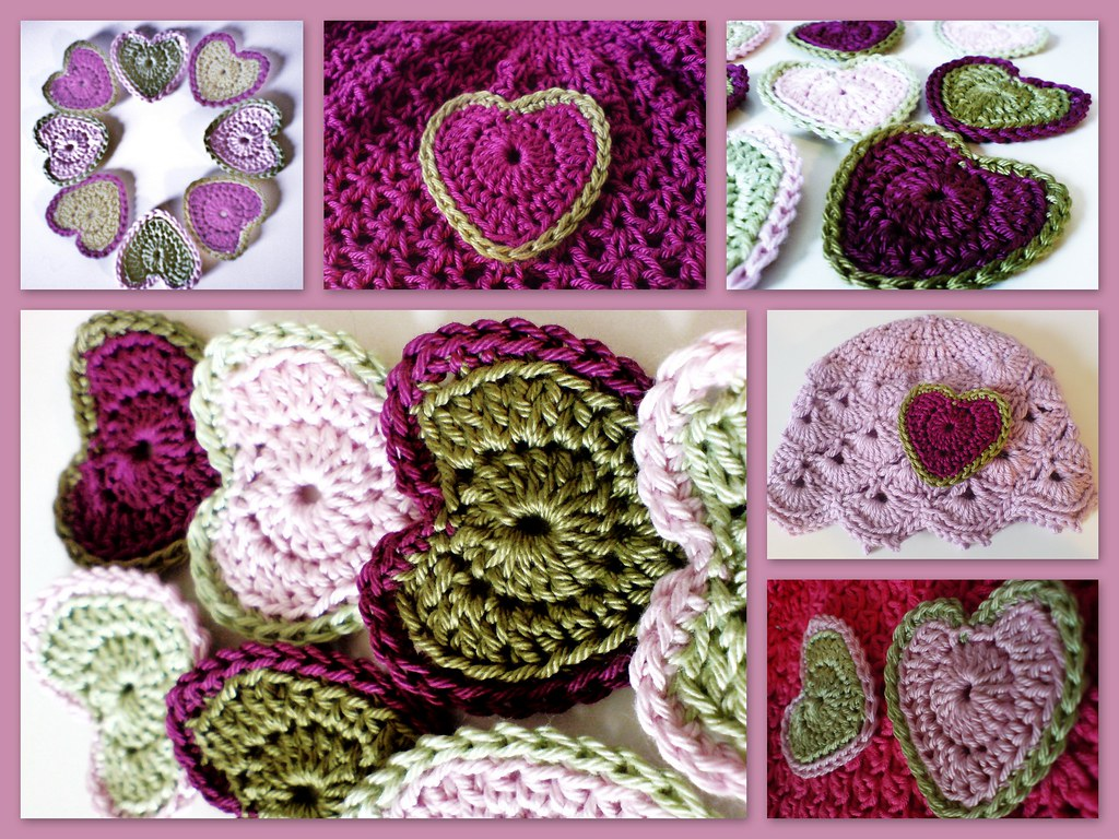 Free Crochet Pattern For A Large Heart : Perfect Crochet Heart - Filling you with love Crochet ...