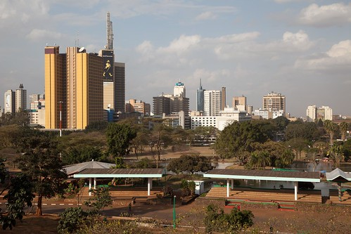 Nairobi City Centre by Olli Pitkänen on Flickr (CC-BY-NC-SA)