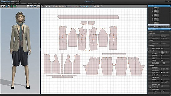 Clo virtual fashion inc marvelousdesigner screenshot v for Virtual suit builder